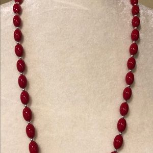 Kim Rogers Jewelry - Cute red necklace NWT